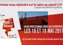 TECHNITEXT Ingénerie vous attend au salon MADE IN HAINAUT les 18 et 19 mai 2017